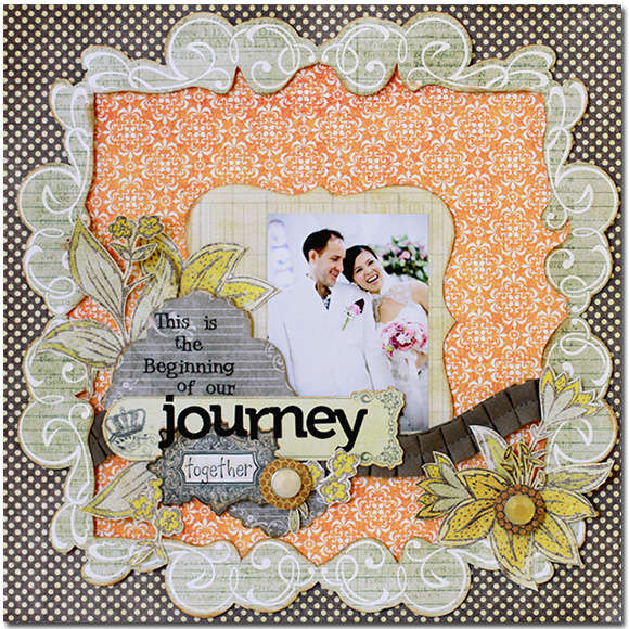 Journey *New Pink Paislee*