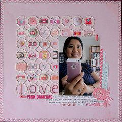 Love Pink Cameras