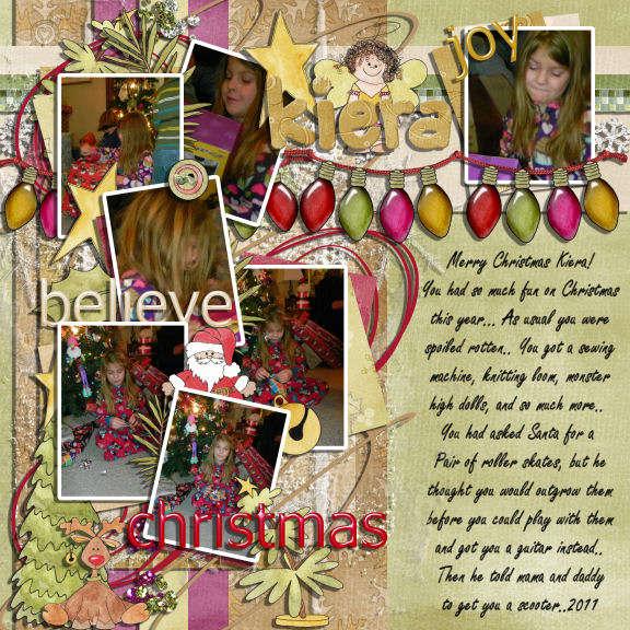 kiera christmas 2011