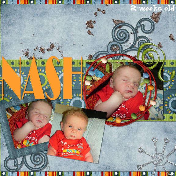 Nash 2 weeks old