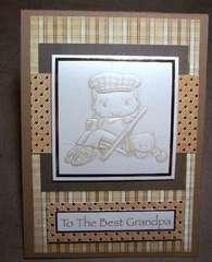 Best Grandpa card