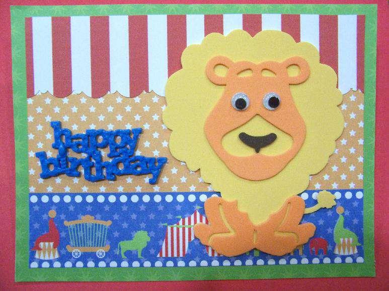 Circus Lion Birthday