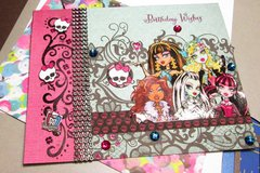 Monster High Birthday Wishes