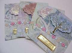 Set of 4 Notecards