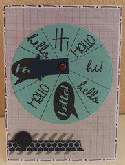 Hello Wheel - NSD Die Cut Discovery