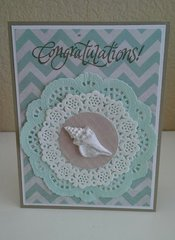 Beach Wedding Card