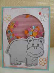 Let's Celebrate...Hippo Shaker