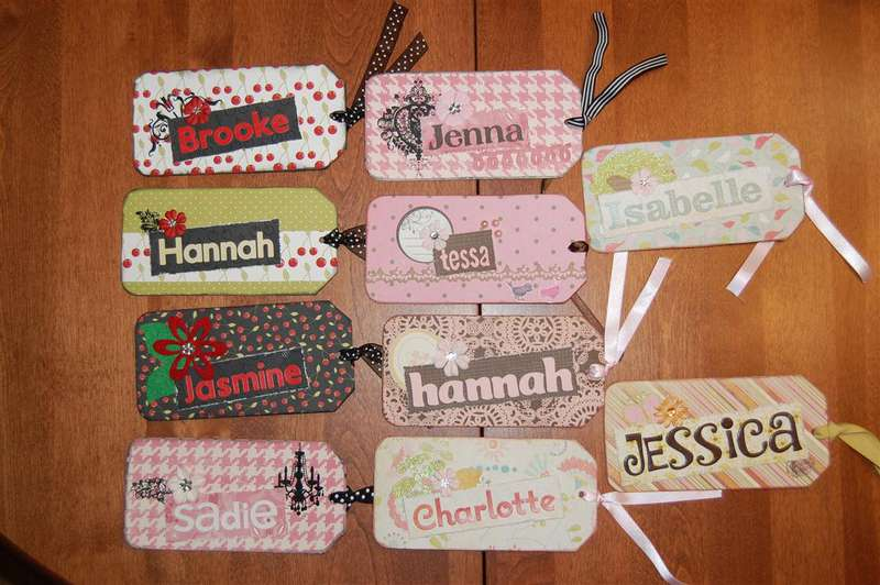 Altered Bookmarks (girls)