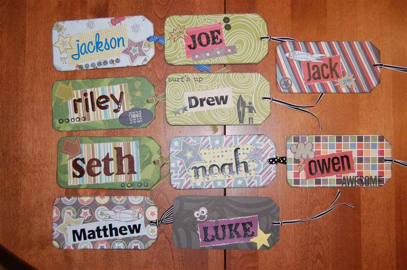 Altered Bookmarks (boys)