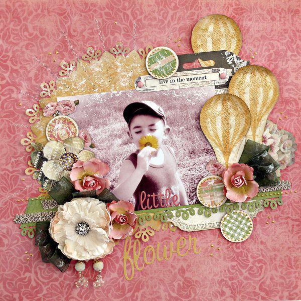 Little flower - My Creative Scrapbook -