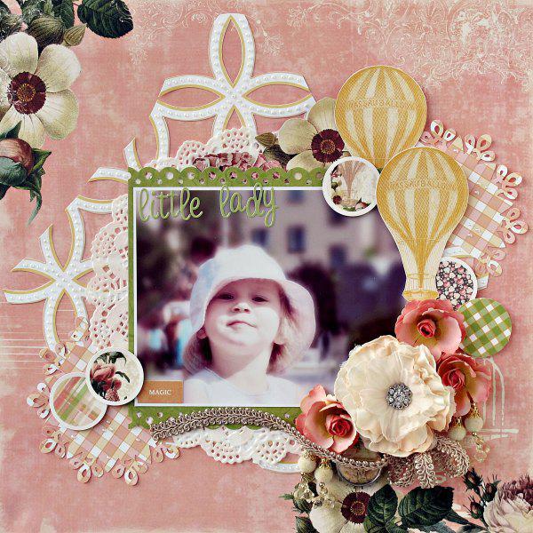 Little lady - My Creative Scrapbook -