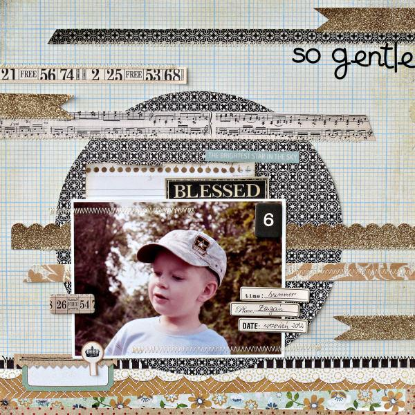 So gentle - My Creative Scrapbook -