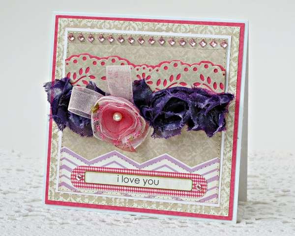 I love you (My Creative Scrapbook)