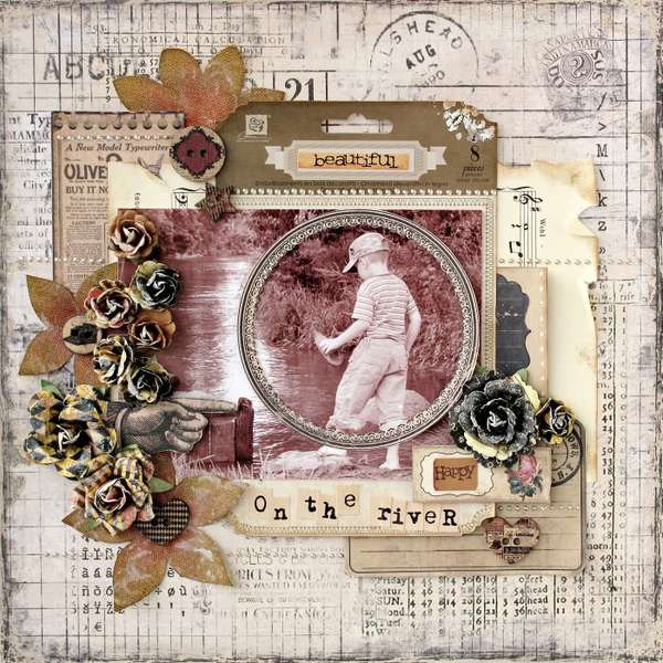 On the river - My Creative Scrapbook -