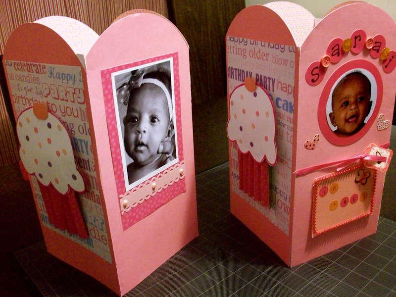 1st Birthday Centerpieces