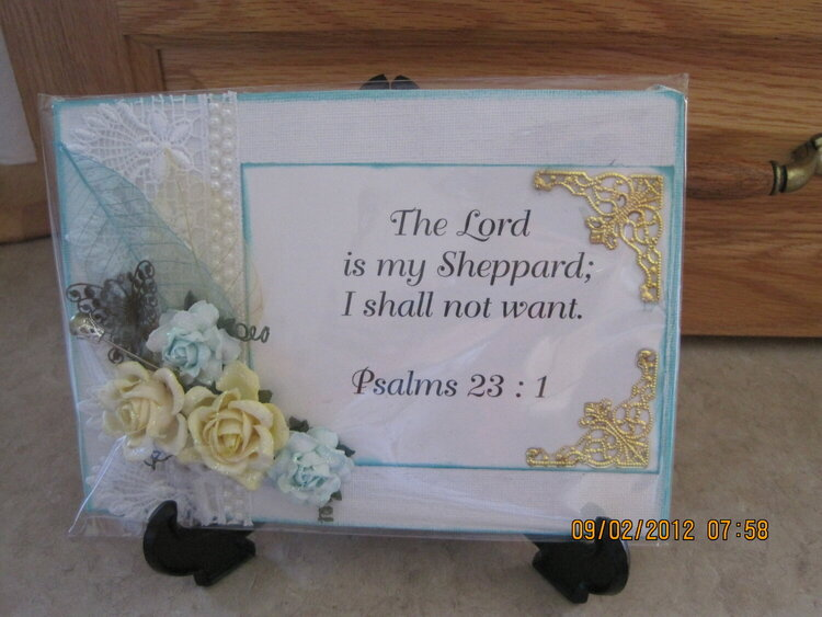 the lord's my sheppard