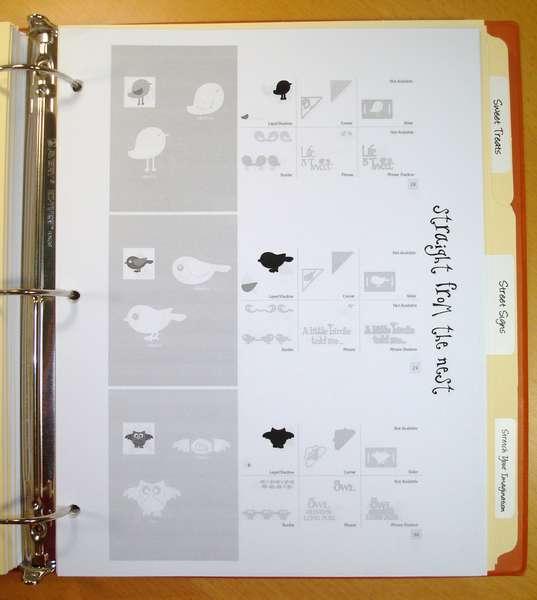 Cricut Cartridge Cheat Sheets - Example 2