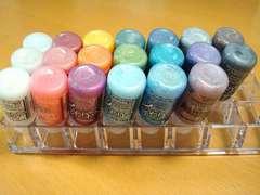 Stickles Up-Side-Down Storage - Plastic Lipstick Organizer