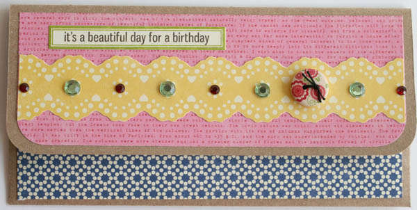 birthday pocket card * jillibean soup *