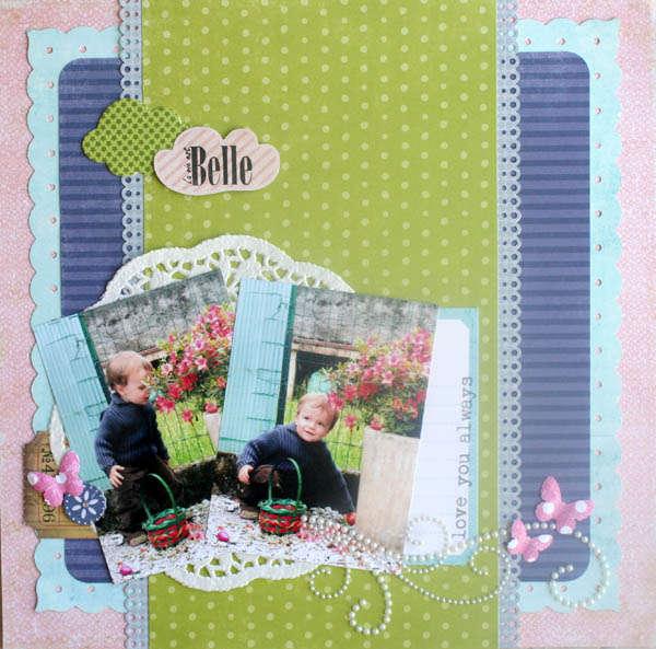 la vi eest belle * zva creative and echo park paper*