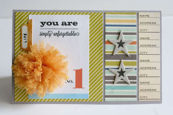 you are simply unforgettable * citrus twist august kit *