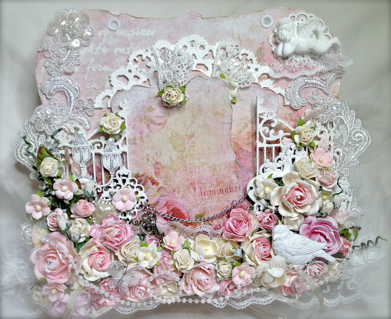 Shabby Chic Tag Holder - Panel #2