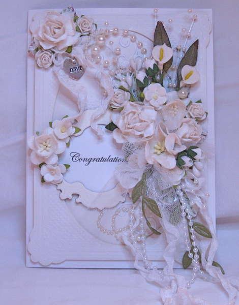 Wedding Card Bouquet
