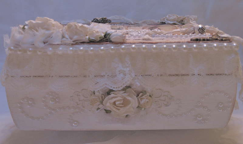 Martica's SS Swap Ladies Diary Keepsake Box front side