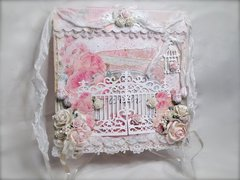 Shabby Chic Gate Card