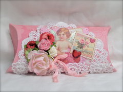Shabby Chic Valentine's Pillow Box
