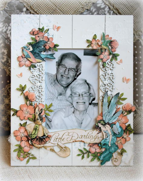 Little Darlings frame *Dusty Attic guest designer*