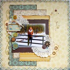 Snow Much Fun *Cards & Scrap + Bo Bunny*