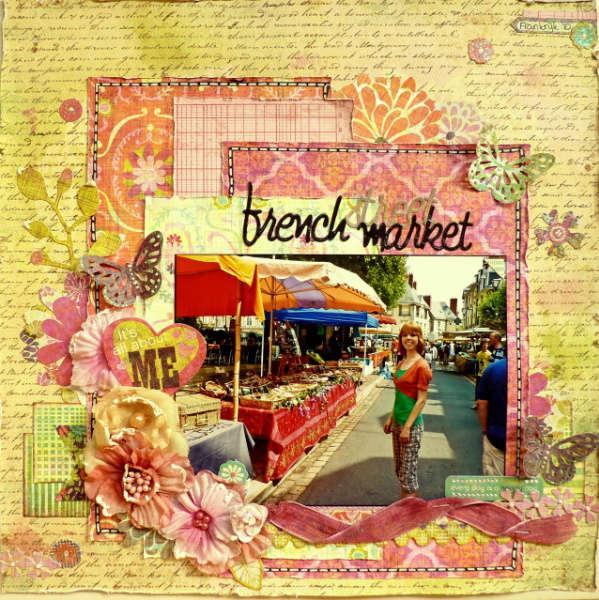 French Street Market *My Creative Scrapbook*