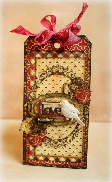 Love Tag *PaperHaus*