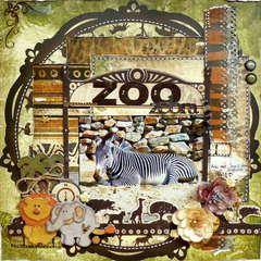 Zoo Zebra *Bo Bunny*