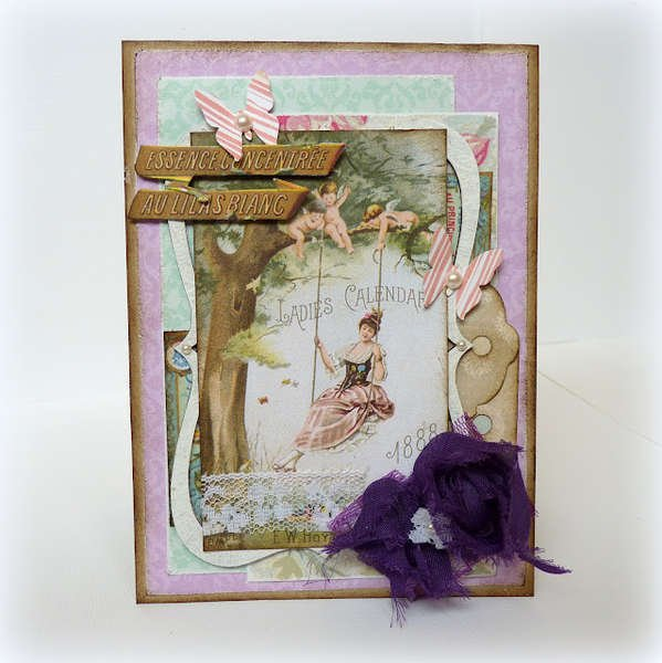Vintage card *My Creative Scrapbook*