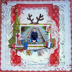 All I Want for Christmas *Bo Bunny*