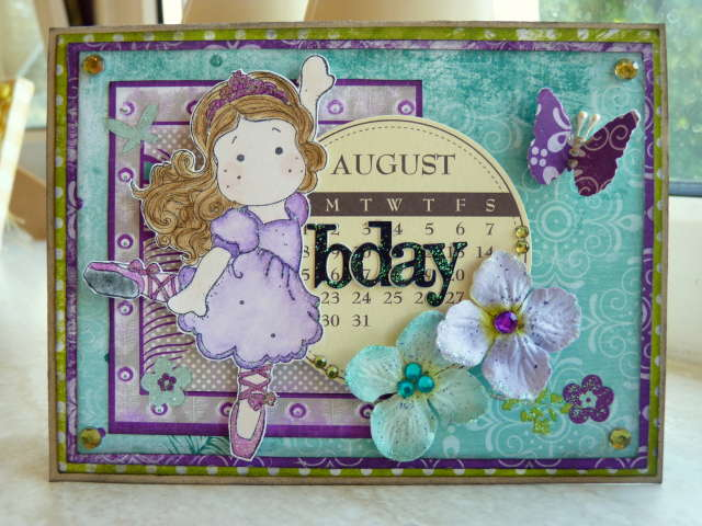 August Bday Card