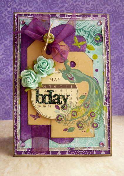 May Bday Card