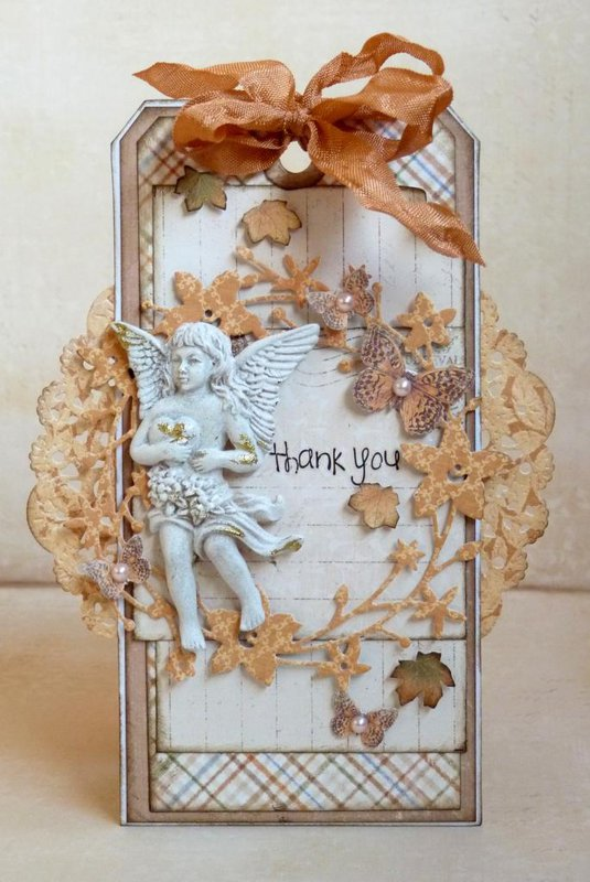Thank You tag *Maja Design*