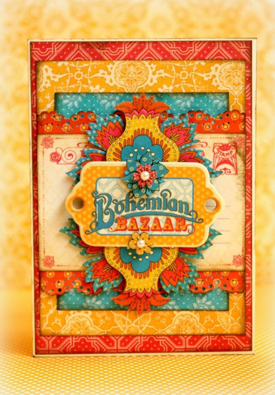Bohemian Bazaar card *Graphic 45*