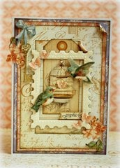 Secret Garden card *Graphic 45*