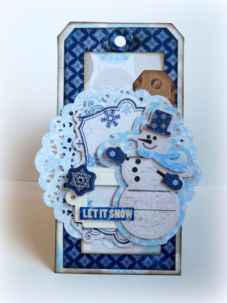 Let It Snow *Bo Bunny NEW Powder Mountain*