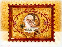 Santa *Bo Bunny and Cards&Scrap*