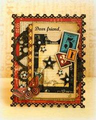 Dear Friend *Imaginarium Design & Graphic 45*