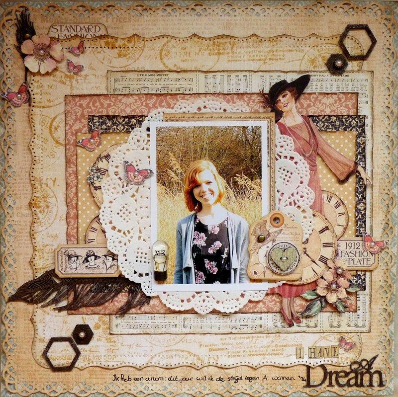 I have a Dream *Graphic 45 & Imaginarium Design*