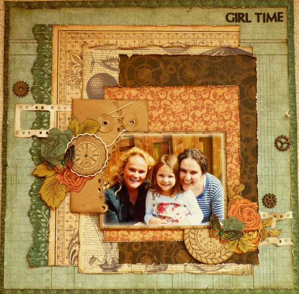 Girl Time *GD for ScrapAfrica*