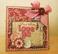 Love ya card