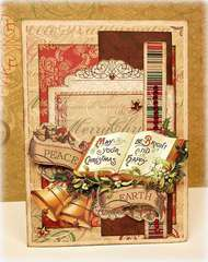 Peace on Earth *Bo Bunny blog hop & GIVEAWAY*