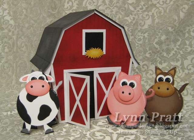 barn gift box & Cards